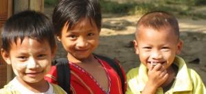 karen children 300x138 Karen Village on the Thai Myanmar Border