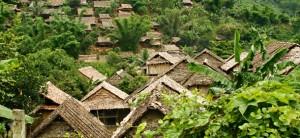 karen hill tribe refugee camp un 300x138 Karen Village on the Thai Myanmar Border