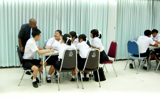 Practice Teaching at Thai Government Schools