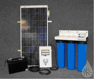 solar powered water treatment 300x254 Fatima Drinking Water Project
